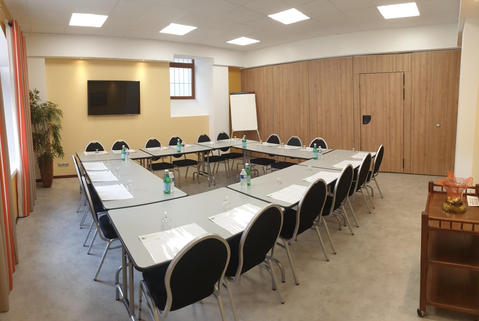 réception séminaire location de salle Hotel Saint-Georges Saint Jean de Maurienne Savoie